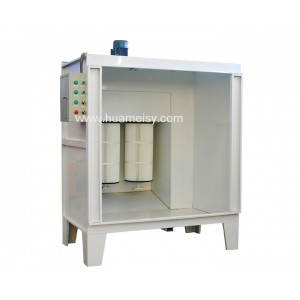 easy type powder coating booth