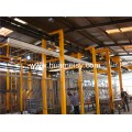 aluminium profiles powder coating line