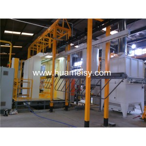 intelligent powder coating system