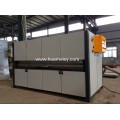 wood finish machine for steel panel