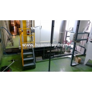 PP automatic powder spray booth
